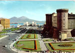 Click here to enlarge image and see more about item cs5740: The Castle of Anjou and the Harbour Naples Italy cs5740