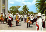 Click here to enlarge image and see more about item cs5764: Changing of the Guard Government House Nassau Bahamas cs5764