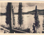 Click here to enlarge image and see more about item cs5799: Le Lac Horatio Walker au Camp le Relais