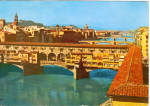 Click here to enlarge image and see more about item cs5805: Ponte Vecchio  Old Bridge Florence Italy cs5805