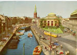 Click here to enlarge image and see more about item cs5808: Frederiksholm s Canal and the Old Strand Trolley Denmark cs5808