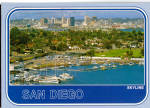 Click here to enlarge image and see more about item cs5849: San Diego CA Skyline cs5849