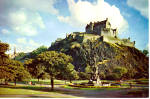 Edinburgh Castle Scotland Postcard cs5857