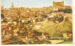Panoramic General View of Toledo Spain cs5866