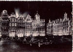 Click here to enlarge image and see more about item cs5889: Brussels Grand Place Illumination