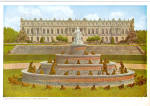 Click here to enlarge image and see more about item cs5900: Schloss Herrenchiemsee Latonabrunnen Chiemsee Bafaria Germany  cs5900