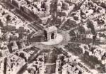 Click here to enlarge image and see more about item cs5917: L Arc de Triumphe et Place de l Etoile Paris France cs5917