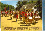 Click here to enlarge image and see more about item cs5952: Fife and Drum Corps, Williamsburg