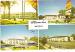 Welcome Inn Motels Postcard cs5981