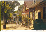 Click here to enlarge image and see more about item cs5999: Duke of Gloucester Street, Williamsburg