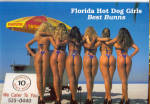 Click here to enlarge image and see more about item cs6006: Florida Hot Dog Girls Best Bunns cs6006