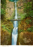Multnomah Falls Oregon Postcard cs6013