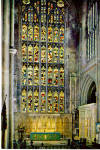 Bath Abbey, Altar and Great East Window England cs6024