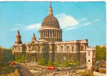 Click here to enlarge image and see more about item cs6033: St Paul s Cathedral London England cs6033