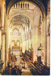 Interior Christ Church Cathedral Oxford England cs6056