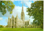Salisbury Cathedral West Front England cs6061