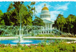 Click here to enlarge image and see more about item cs6090: State Capitol and Fountain, Sacramento, California