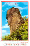 Click here to enlarge image and see more about item cs6116: Chimney Rock Park North Carolina Postcard cs6116