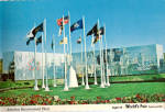 Click here to enlarge image and see more about item cs6168: America's Bicentenial Plaza Expo 74 Postcard cs6168