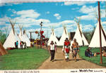 Click here to enlarge image and see more about item cs6169: Native American's Earth Expo 74 Postcard cs6169