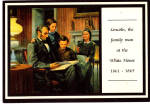 Click here to enlarge image and see more about item cs6175: Lincoln the Family Man, by Mort Kunstler cs6175