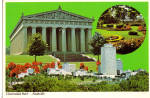 The Parthenon in Centennial Par, Nashville, Tennessee