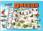 State Map of Oregon cs6189