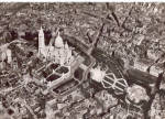 Click here to enlarge image and see more about item cs6232: Vue aerienne vers le Sacre Coeur Paris France cs6232