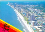 Aerial View of Myrtle Beach