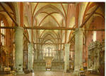 Interior The Friars  Church Venice  Italy cs6278