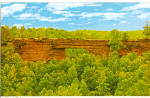 Click here to enlarge image and see more about item cs6332: Natural Rock Bridge, Daniel Boone National Forest