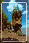 Click here to enlarge image and see more about item cs6346: The Flower Pot Rocks,Hopewell Cape,New Brunswick