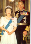 Click here to enlarge image and see more about item cs6358: H R H Queen Elizabeth and H R H The Duke of Edinbugh cs6358