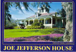 Click here to enlarge image and see more about item cs6396: Joe Jefferson House, Jefferson Island,Louisiana