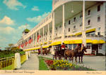 Grand Hotel and Carriages Mackinac Island Michigan cs6402