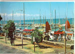Lahaina Yacht Harbor Maui Hawaii Postcard cs6418