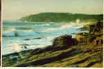 Click here to enlarge image and see more about item cs6430: Heavy Surf on Maine's Rocky Coast