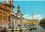 Click here to enlarge image and see more about item cs6436: Navona Square Rome Italy cs6436