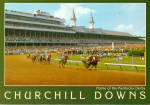 Click here to enlarge image and see more about item cs6442: Derby Day Churchill Downs Louisville Kentucky cs6442