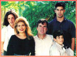Click here to enlarge image and see more about item cs6570: Jeb Bush and Family Christams Card