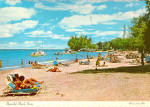 Click here to enlarge image and see more about item cs6573: Beach Scene at Isle Verde Hotel