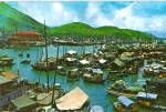 Click here to enlarge image and see more about item cs6607: Aberdeen Fishing Village of Hong Kong cs6607