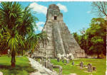 Click here to enlarge image and see more about item cs6617: Giant Jaguar Temple Tikal Peten Guatemala cs6617