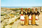 Click here to enlarge image and see more about item cs6638: Women in Native Greek Dresses cs6638