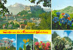 Multiview card of Salzburg, Austria