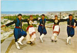 Click here to enlarge image and see more about item cs6653: Men and Women in Native Greek Dress