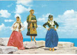 Click here to enlarge image and see more about item cs6673: Women in Native Dress Greece cs6673