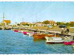 Click here to enlarge image and see more about item cs6702: Fishing Boats in Hoganas Sweden