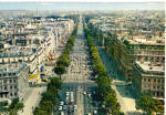 Click here to enlarge image and see more about item cs6748: Champs Elysees Paris  France cs6748