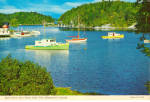 Click here to enlarge image and see more about item cs6776: Dury Cove near St John, New Brunswick, Boats